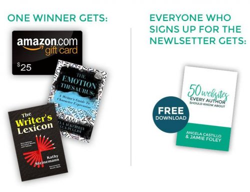 Giveaway: $25 Amazon Gift Card & 2 awesome craft books!